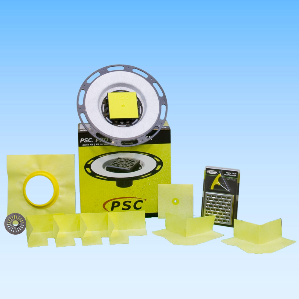 PSC Pro GEN II Tiled Shower Drain Kit by Pro-Source Center