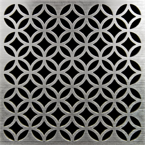PSC Pro Stainless Steel Drain Grate Cover - Lattice Design by Pro-Source Center