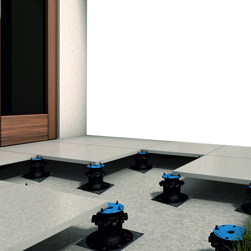 Arkimede Raised Floor System for Tile Stone Slab Surfaces by PSC