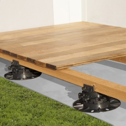 PSC Arkimede Raised Floor System for Deck and Wood Surfaces