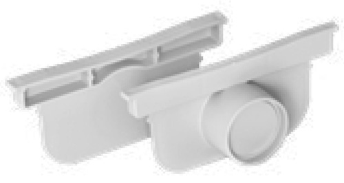 Trench Linear Drains Pegasus Plus One S - End Cap 2 Pack by PSC
